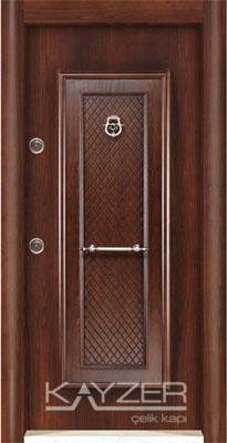 Kabartma Panel Çelik Kapı-1001