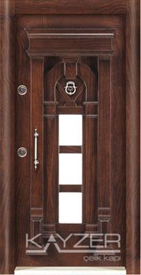 Kabartma Panel Çelik Kapı-1002
