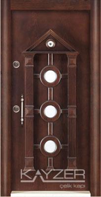 Kabartma Panel Çelik Kapı-1004
