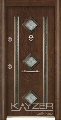 Kabartma Panel Çelik Kapı-1006