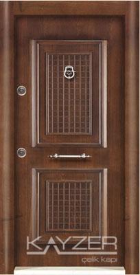 Kabartma Panel Çelik Kapı-1008