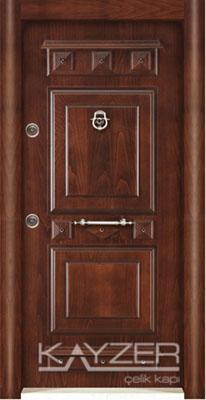 Kabartma Panel Çelik Kapı-1009