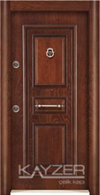 Kabartma Panel Çelik Kapı-1011