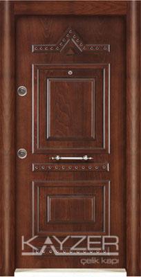 Kabartma Panel Çelik Kapı-1012