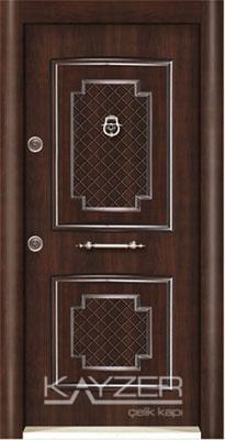 Kabartma Panel Çelik Kapı-1013