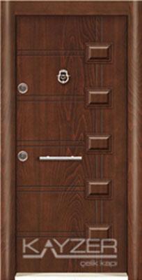 Kabartma Panel Çelik Kapı-1016