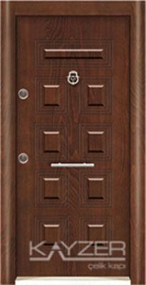 Kabartma Panel Çelik Kapı-1017