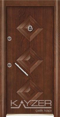 Kabartma Panel Çelik Kapı-1018