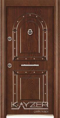 Kabartma Panel Çelik Kapı-1019