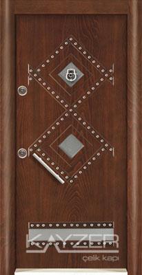 Kabartma Panel Çelik Kapı-1020