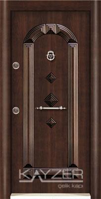Kabartma Panel Çelik Kapı-1021