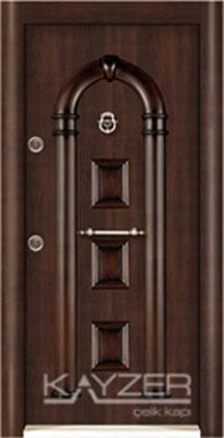 Kabartma Panel Çelik Kapı-1022