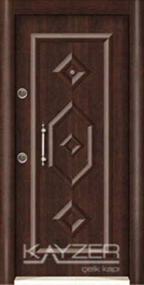 Kabartma Panel Çelik Kapı-1023