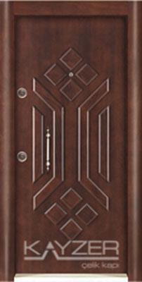 Kabartma Panel Çelik Kapı-1026