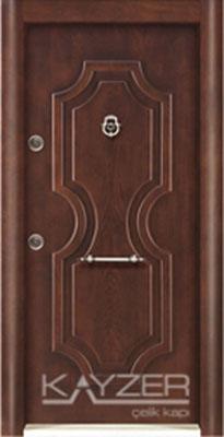 Kabartma Panel Çelik Kapı-1027