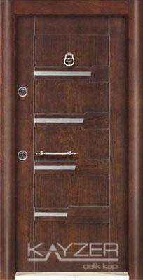 Kabartma Panel Çelik Kapı-1028