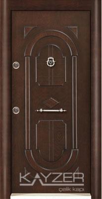 Kabartma Panel Çelik Kapı-1029