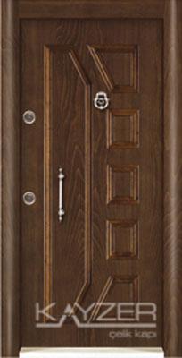 Kabartma Panel Çelik Kapı-1030