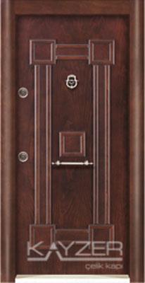 Kabartma Panel Çelik Kapı-1031