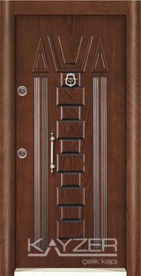 Kabartma Panel Çelik Kapı-1032